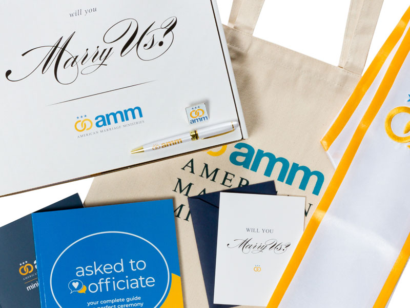 AMM Will You Marry Us? Gift Box